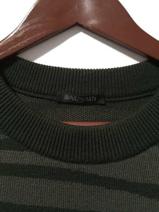 Balmain FW14 Embroidered Open Shoulder Knit Size US S / EU 44-46 / 1 - 4