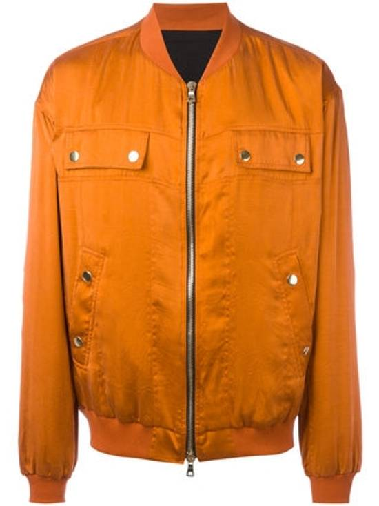 Balmain Orange Bomber Jacket Size US S / EU 44-46 / 1 - 4