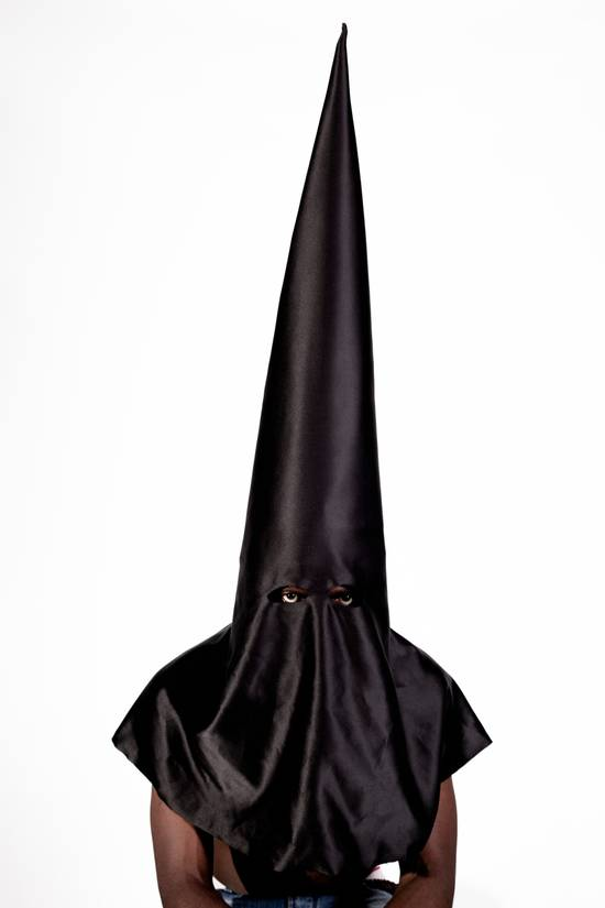 Kanye West KANYE WEST 'BLKKK SKKKN HEAD' MEMORABILIA- conical mask worn in 2013 music video Size ONE SIZE - 4