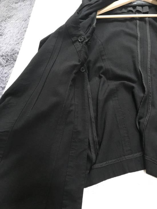 Julius SS12 layered front panel coat Size US M / EU 48-50 / 2 - 8