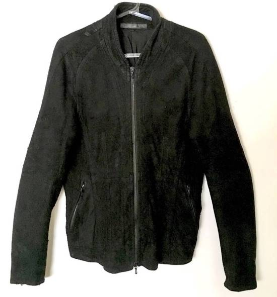 Julius $2200 Lamb Leather Blistered And Reversed Moto Jacket Made In Japan In Mint Condition Size US M / EU 48-50 / 2 - 2