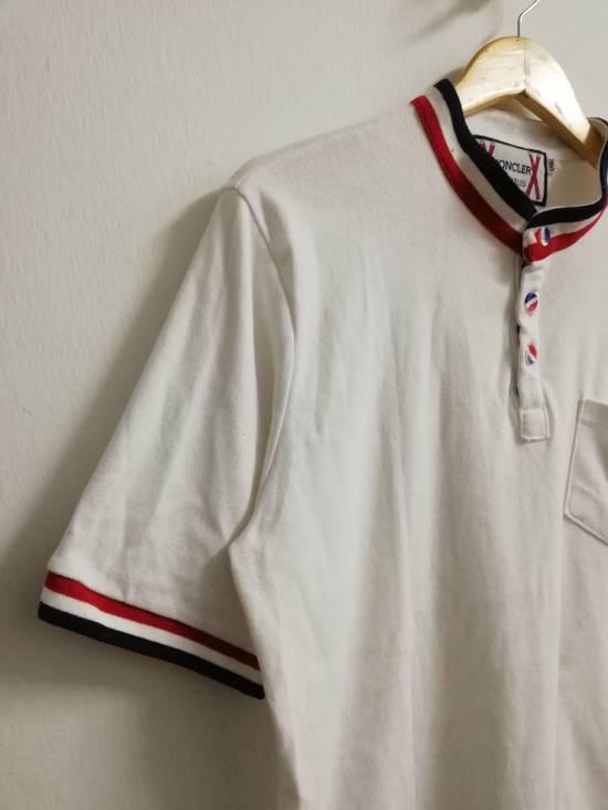 Thom Browne Moncler Gammebleu x Thom Browne Single Pocket Button Up Shirt Size US XXL / EU 58 / 5 - 3