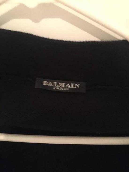 Balmain Balmain Navy Knit Harem Lounge Pants Size US 30 / EU 46 - 2