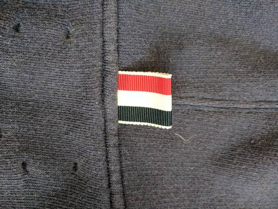 Thom Browne Navy Zip Hoodie Size US XS / EU 42 / 0 - 7