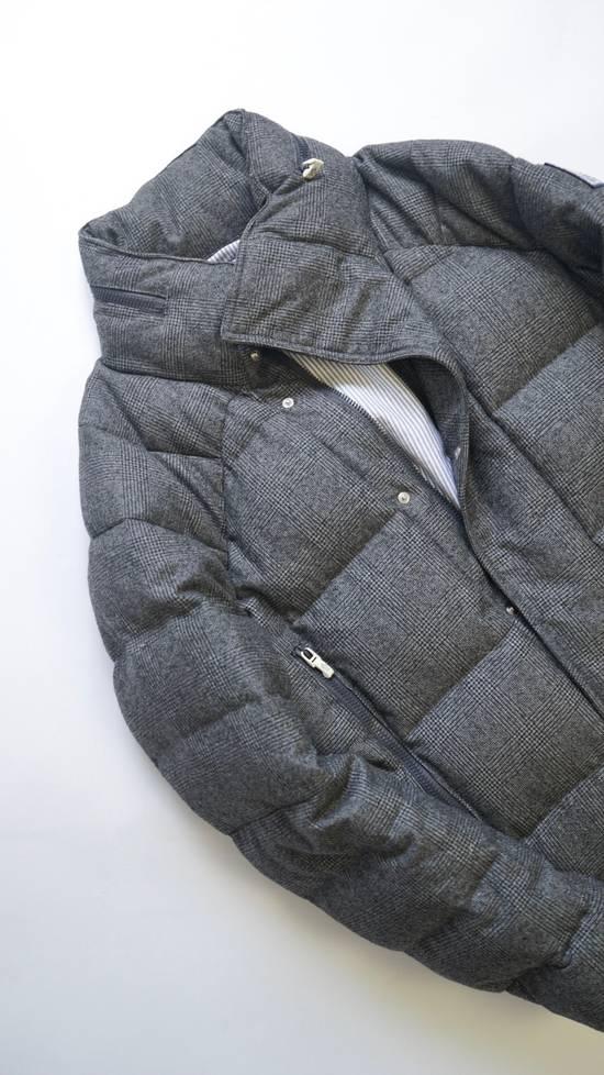 Thom Browne RARE COLLECTOR'S ITEM Gamma Bleu By Thom Browne Wool Glen Plaid Down Jacket Size US L / EU 52-54 / 3 - 2
