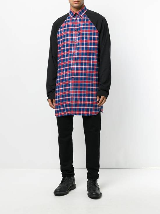 Givenchy Contrast Arms Plaid Shirt Size US XL / EU 56 / 4 - 3
