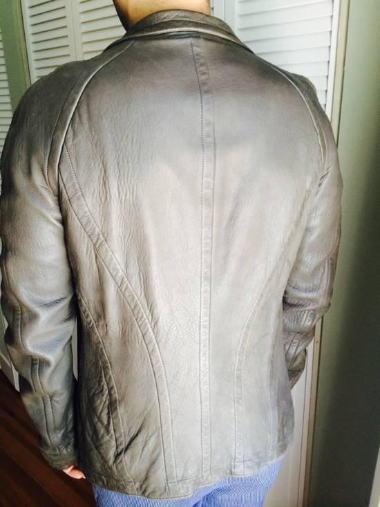 Julius Julius 7 Men Leather Jacket Size US M / EU 48-50 / 2 - 1