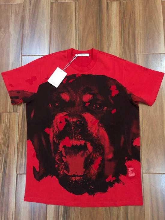 Givenchy Red Destroyed Rottweiler *Columbian XXS* Size US XXS / EU 40