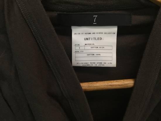 Julius AW07 Giza Cotton Drape Neck Longsleeve Size US S / EU 44-46 / 1 - 6