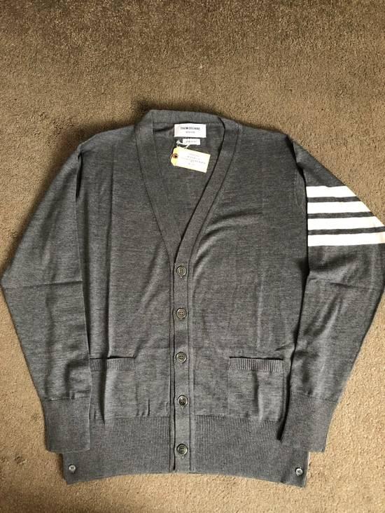 Thom Browne Merino Wool 4 Bar Cardigan Size US L / EU 52-54 / 3
