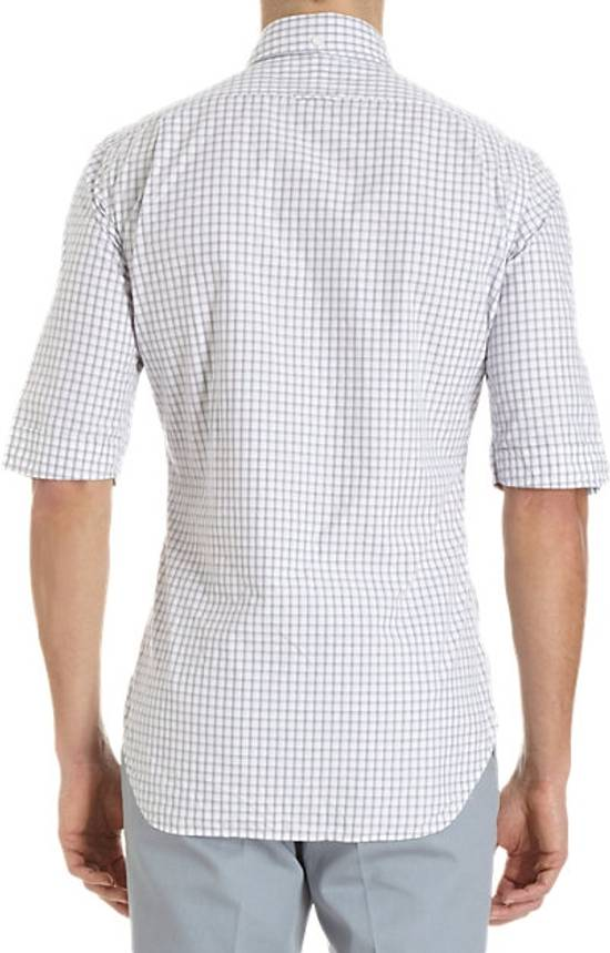 Thom browne short sleeve grid check shirt size m shirts for Thom browne shirt sale