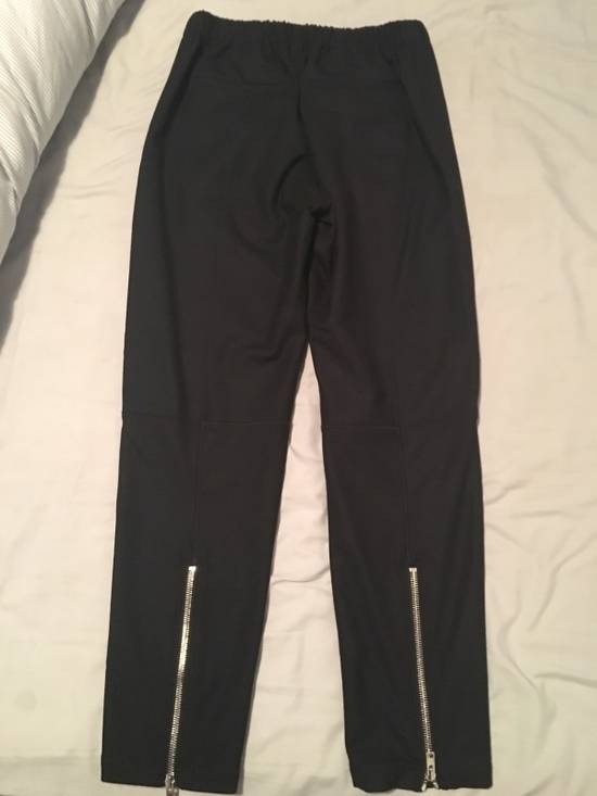 Givenchy Zip-detail Wool Joggers Size US 30 / EU 46 - 1