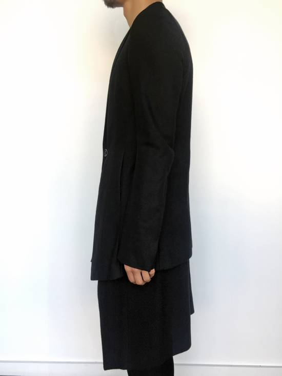 Julius Angora Double Layer Skirted Blazer Size 46R - 2