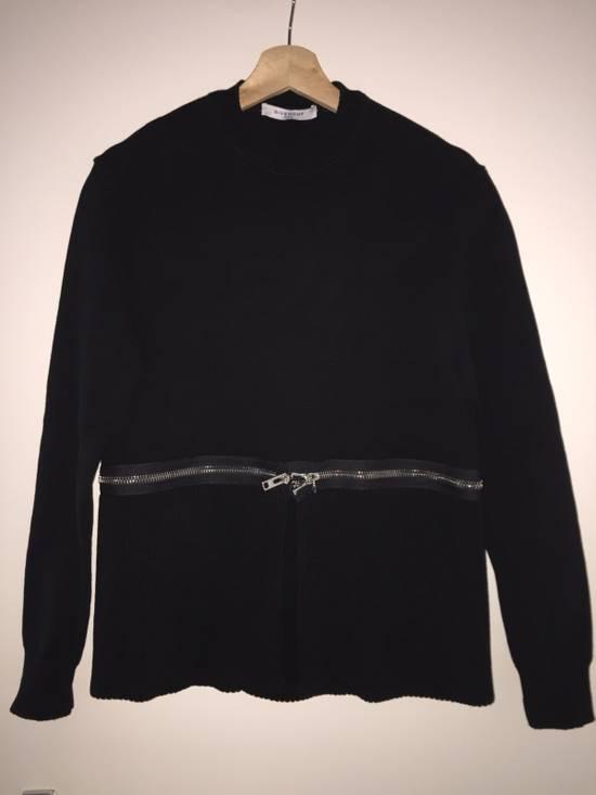 Givenchy Zip/ Crop Heavy Knit Jumper Size US S / EU 44-46 / 1
