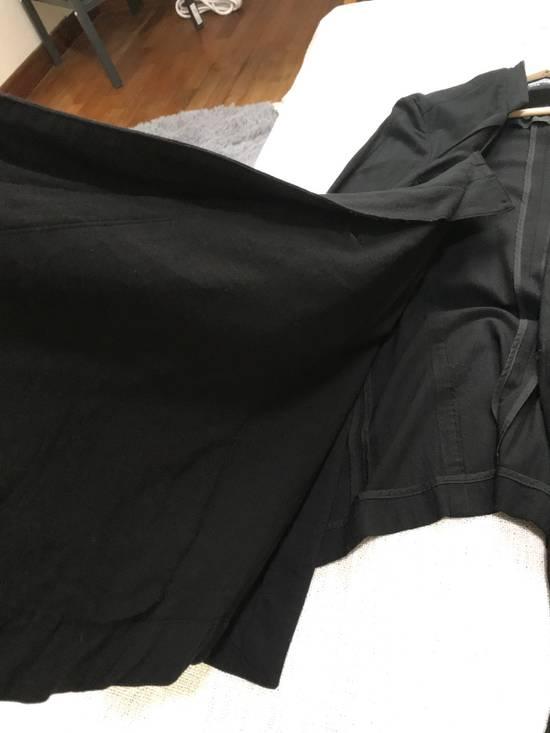 Julius SS12 layered front panel coat Size US M / EU 48-50 / 2 - 3