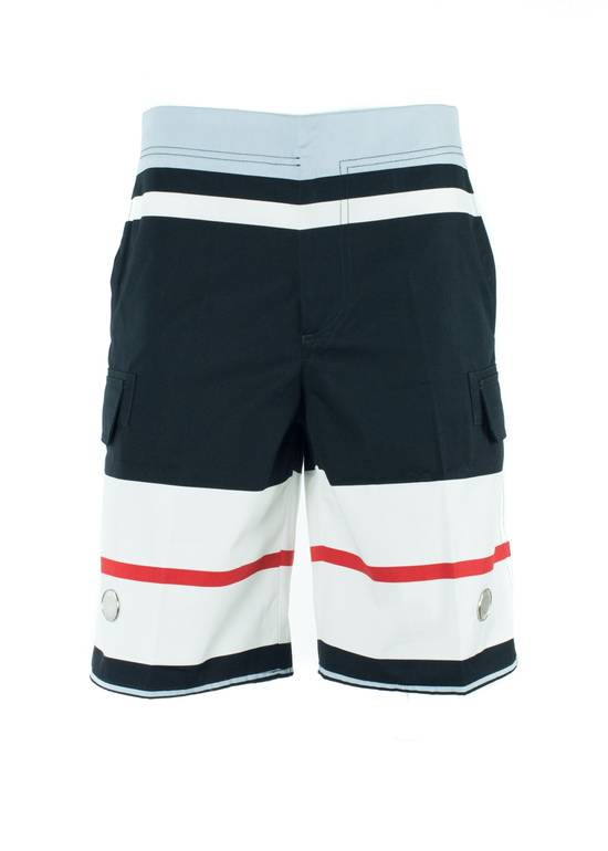 Givenchy Givenchy Men's Cotton Multi Color Striped Board Shorts Size US 34 / EU 50
