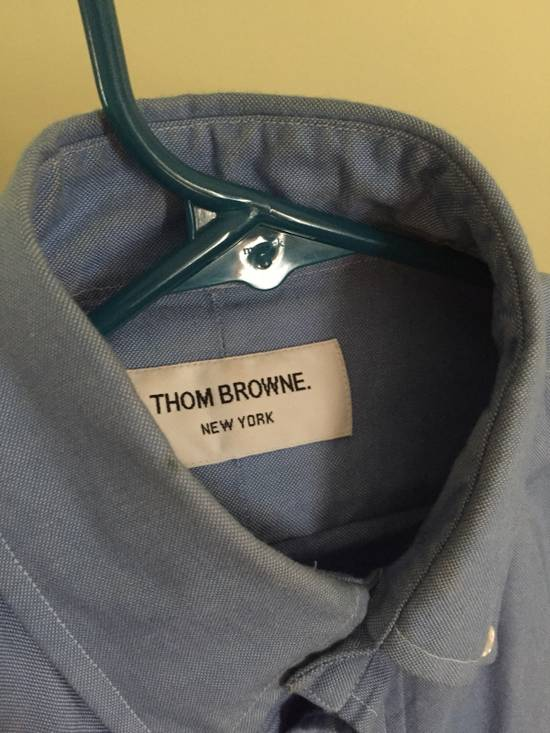 Thom Browne 4 Bar Shirt Size US XS / EU 42 / 0 - 1