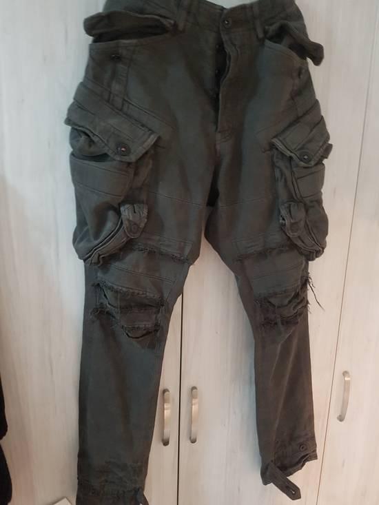 Julius Julius Distressed Gasmask Cargo Pants Size US 30 / EU 46 - 13