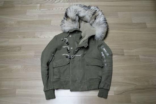 Balmain Raccoon Fur Parka Size US S / EU 44-46 / 1 - 2