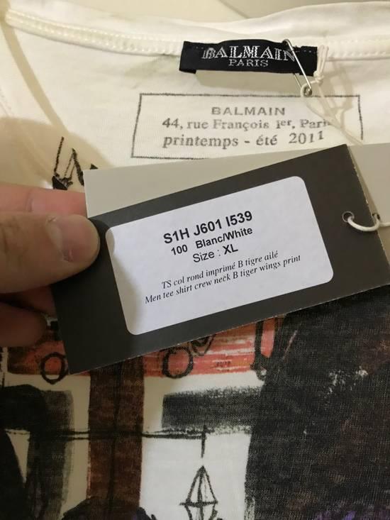 Balmain Decarnin era B Wing T shirt in white Size US XL / EU 56 / 4 - 1