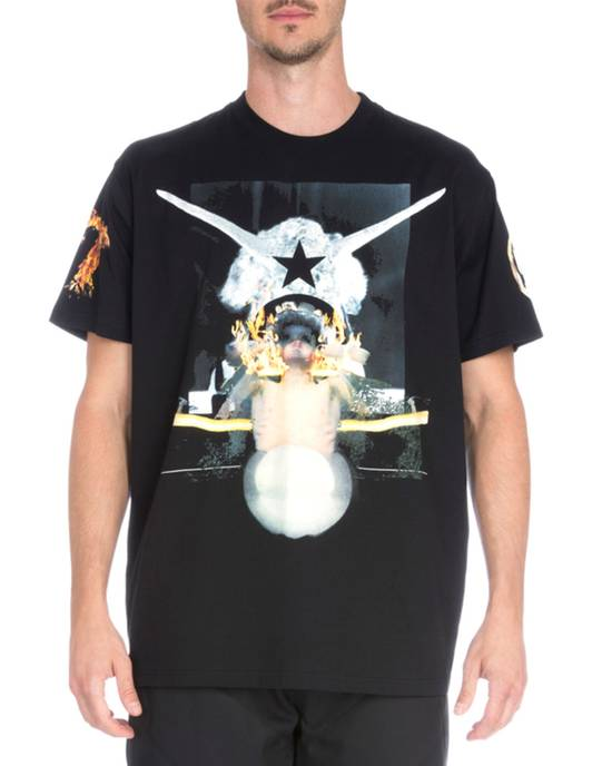 Givenchy Voodoo Doll Flames T-shirt Size US M / EU 48-50 / 2 - 2