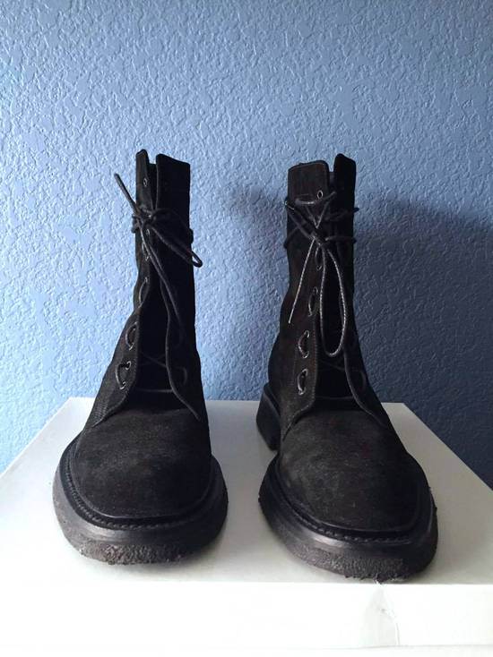 Dior Rare Aw07 Combat Boots New Size 8 Boots For Sale
