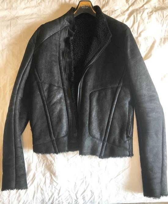 Julius High Neck Shearling Jacket Size US S / EU 44-46 / 1 - 5