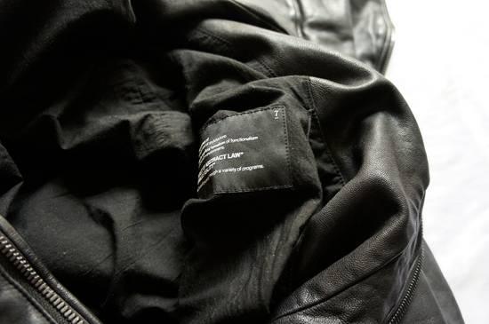 Julius JULIUS _7 ma high neck black lamb biker jacket slim fit Japan Size US S / EU 44-46 / 1 - 23