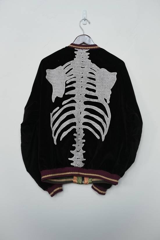 Kapital Reversible Skeleton Souvenir/Bomber Jacket Size US XL / EU 56 / 4 - 1