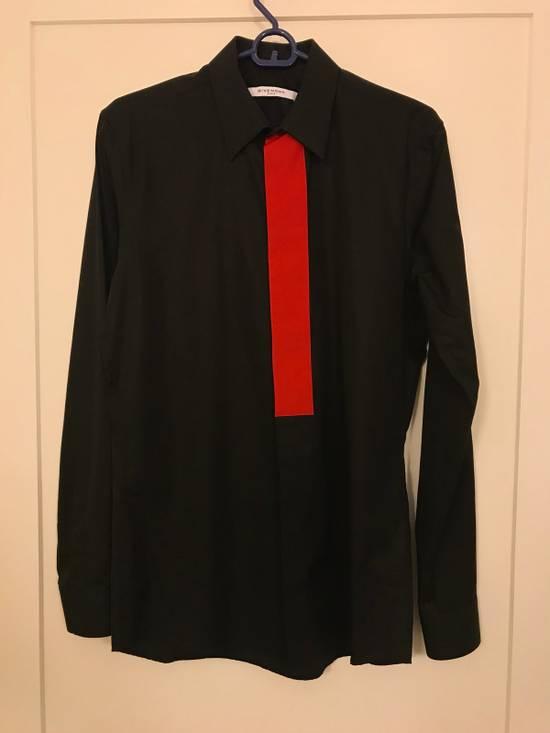 Givenchy Givenchy Men's Black Red Band Shirt Size US S / EU 44-46 / 1 - 1