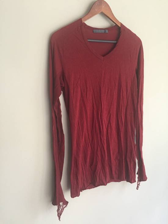 Julius SS09 Cotton/Silk Distressed Longsleeve Size US S / EU 44-46 / 1 - 1