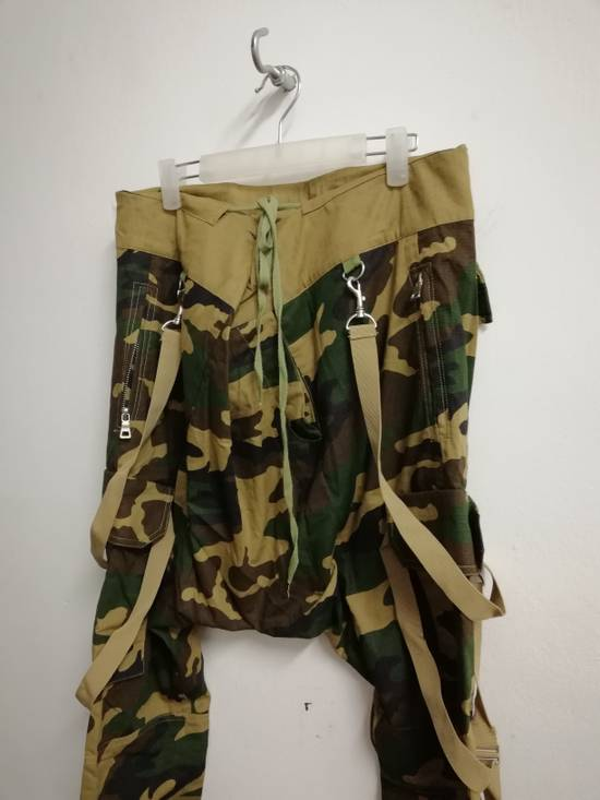Balmain Balmain Paris Camouflage Resort Collection Low Crotchstyle Buttonfly size L (30-34 waist) with Adjustable Drawstring Size US 34 / EU 50 - 5