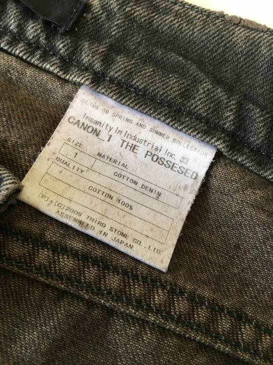 Julius Japan made cropped wrinkle and dirt effect distressed frayed hem Jeans Size US 28 / EU 44 - 9