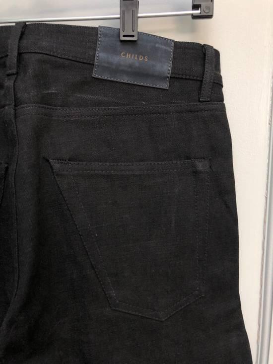 Thom Browne Black Denim Jeans Size US 29 - 4