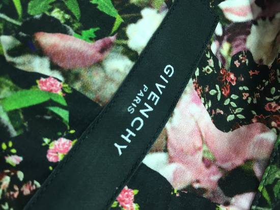 Givenchy GIVENCHY Pre14 reversed panel rose floral digital print cotton shirt US40 FR50 Size US M / EU 48-50 / 2 - 12