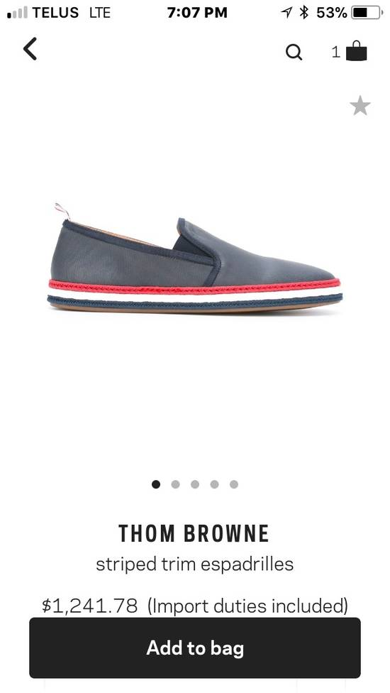 Thom Browne *Final Drop* New In Box Espadrilles Size US 10 / EU 43 - 1