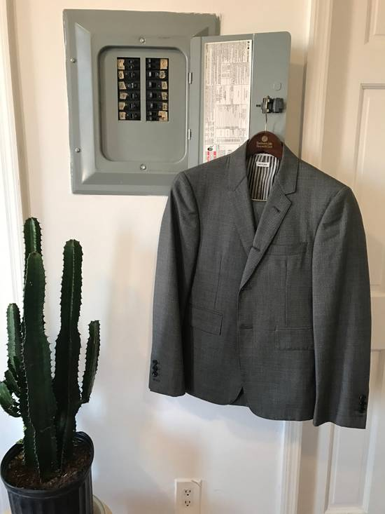 Thom Browne classic birds eye suit Size 36S