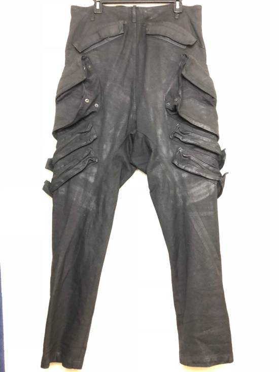 "Julius 2015 ""Prism"" Waxed Cargo Pants NEW Size US 36 / EU 52 - 1"