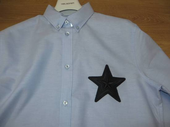Givenchy Embroidered star applique shirt Size US M / EU 48-50 / 2 - 9