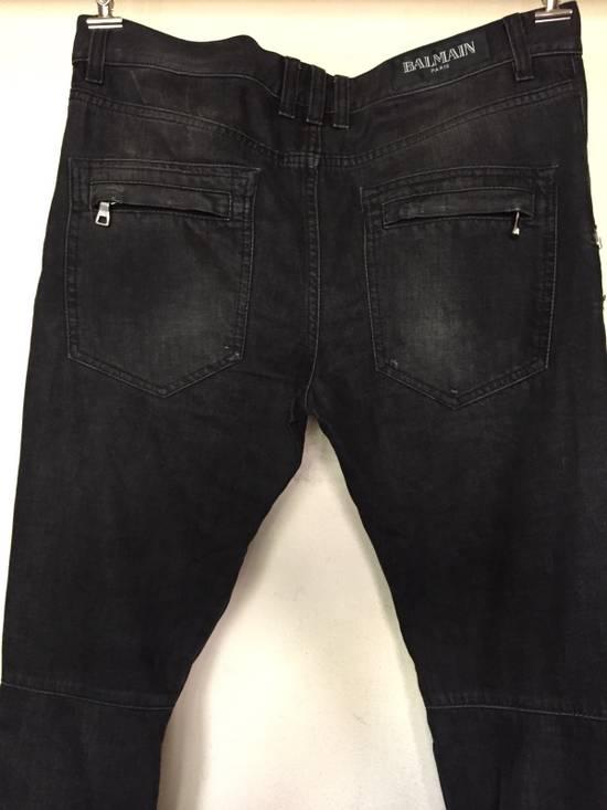 Balmain Balmain Biker Jeans Aw11 Size US 32 / EU 48 - 3