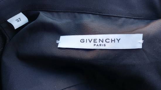 Givenchy Givenchy Black Embroidered Wings Rottweiler Star Madonna Shark Shirt size 37 (fitted S) Size US S / EU 44-46 / 1 - 10