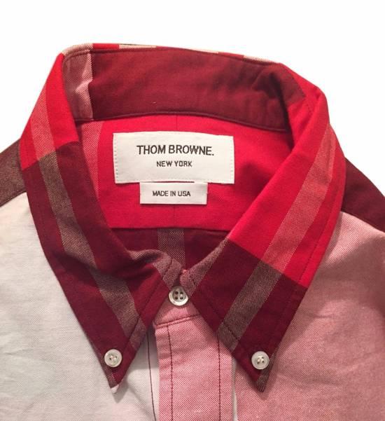 Thom Browne Red Plaid Oxford - New Size US XS / EU 42 / 0 - 2