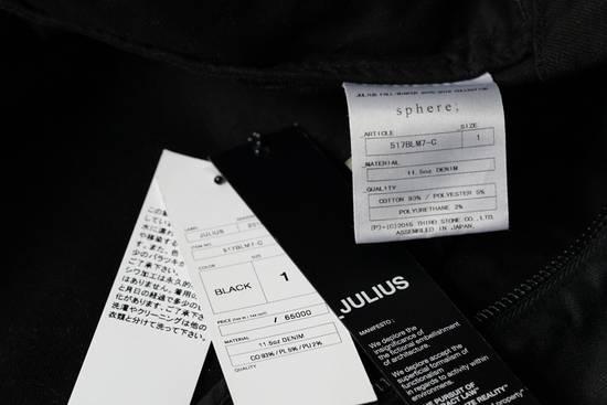 Julius JULIUS _7 ma moto black knit denium biker jacket sz1 eu44 46 xs s slim fit Japan Size US S / EU 44-46 / 1 - 16