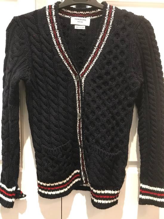 Thom Browne Wool Cardigan Size US XS / EU 42 / 0