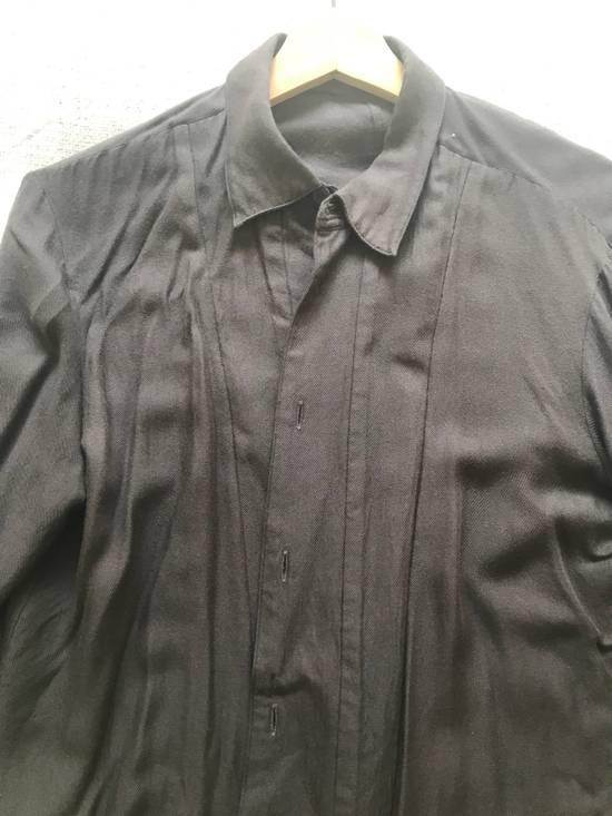 Julius AW16 charcoal with angle edge at bottom shirt Size US S / EU 44-46 / 1 - 4
