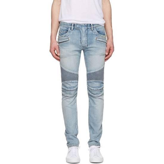 Balmain Distressed Jeans Size US 32 / EU 48