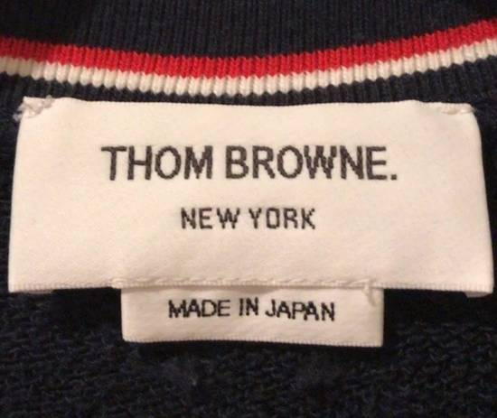 Thom Browne Printed 4 Stripes Signature Sweatshirt Size US XS / EU 42 / 0 - 1