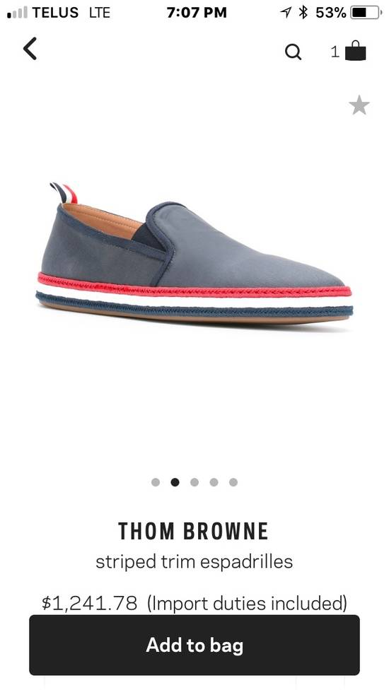 Thom Browne *Final Drop* New In Box Espadrilles Size US 10 / EU 43 - 2