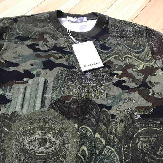 Givenchy Givenchy Camo Sweatshirt S Cuban New With Tags Size US S / EU 44-46 / 1 - 9
