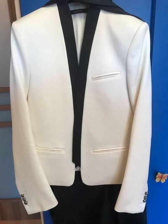 Balmain White Blazers Size 38R